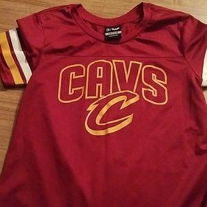 CLEVELAND CAVALIERS - NBA Boy's Shirt, Size Medium